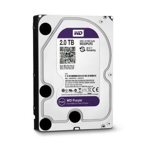 西数2TB-WD20PURX(SATA3/紫盘