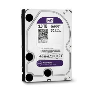 西数3TB-WD30PURX (紫盘/监控盘)