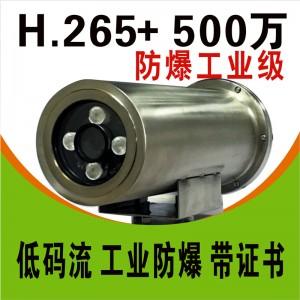 希泰H265+ 500万不锈钢防爆监控摄像机